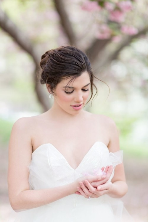 Editorial: Bride Among The Blossoms