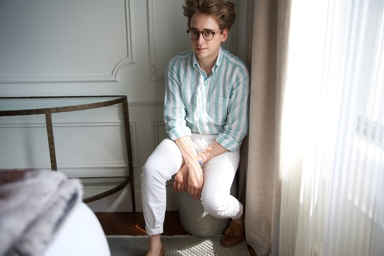 Luke Edward Hall, Fashion's Favorite Illustrator & Interior Design Genius