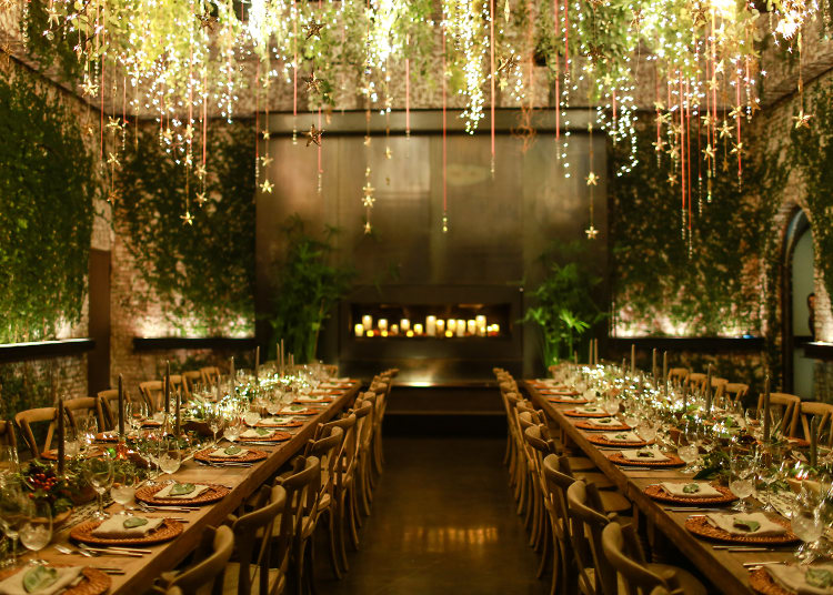 inside free people s dreamy dinner wonderland