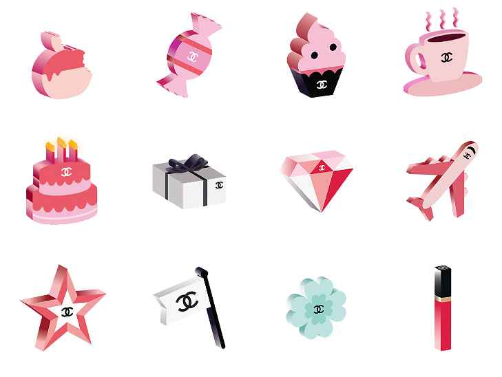 Find The Emoji Wedding.Chanel Emojis Are Now The Chicest Way To Text