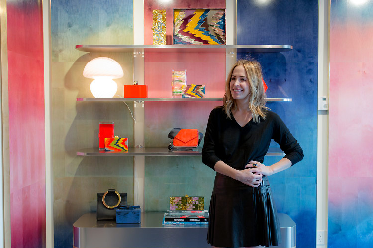 Cheeky-Chic Designer Brett Heyman Takes Us Inside Her First Edie Parker Boutique