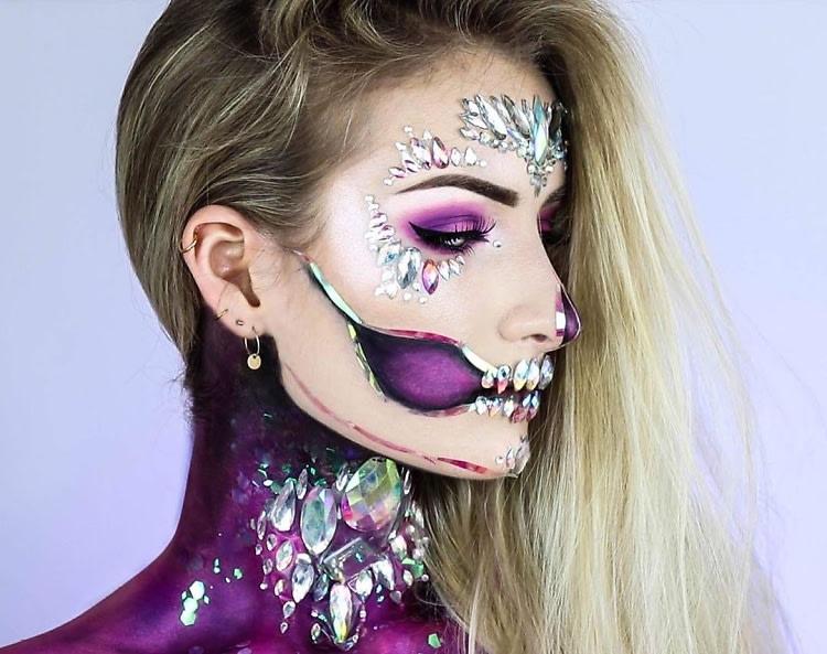 5 Glam Halloween Makeup Tutorials For A Last Minute Look - Halloween-makeup
