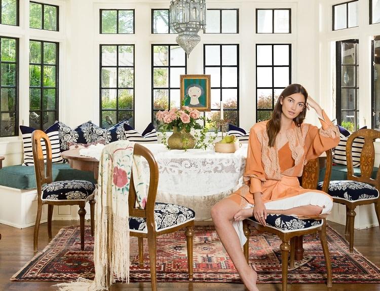 Lily Aldridge S Nashville Home Is A Bohemian Dream