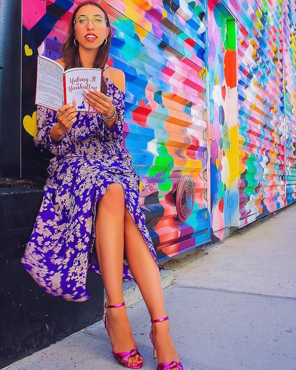 The IRL Carrie Bradshaw? How Caroline Vazzana Went From Fashionista To Fabulous Author