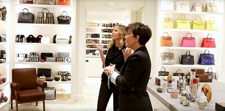 399d41019589fb You HAVE To Watch This Tour Of Kris Jenner's Closet!