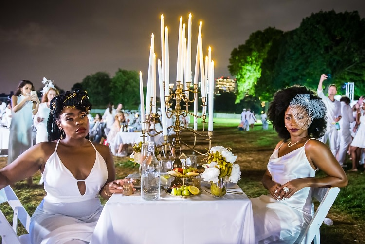 Diner En Blanc 2018 Inside Nyc S Glamorous Secret Dinner