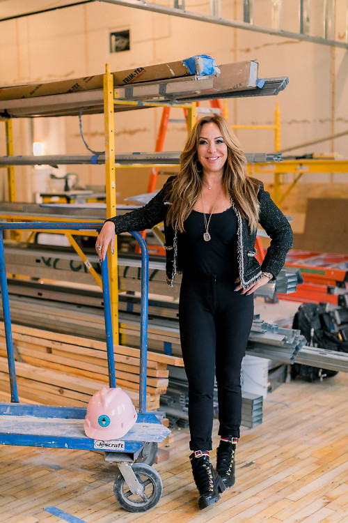 Meet Barbara Kavovit, NYC's Glamorous Queen Of Construction