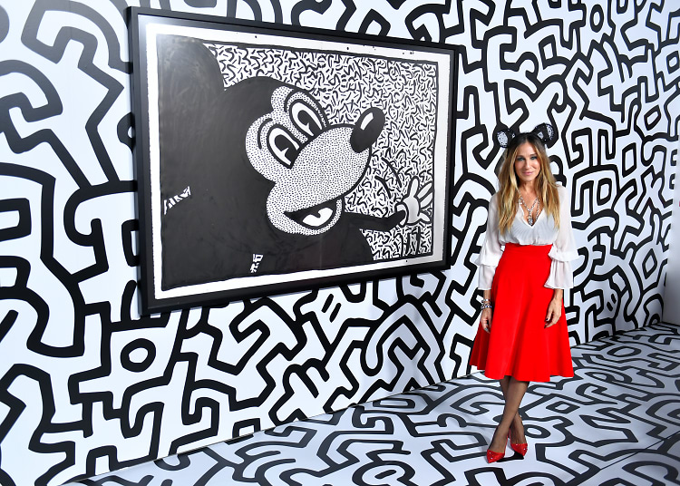 Sarah Jessica Parker & More Celebrate Mickey: The True Original Exhibition
