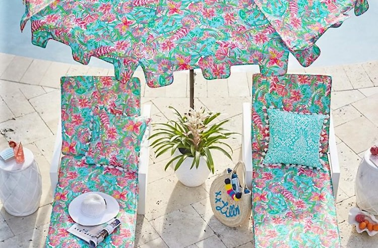 Lilly Pulitzer S New Pottery Barn Line Is Palm Beach