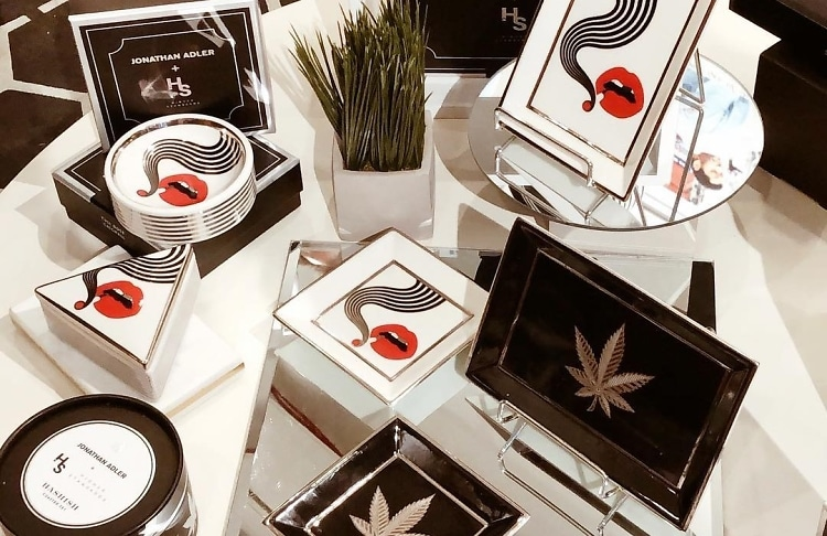 Jonathan Adler Debuts A Chic New Cannabis Collection With Higher