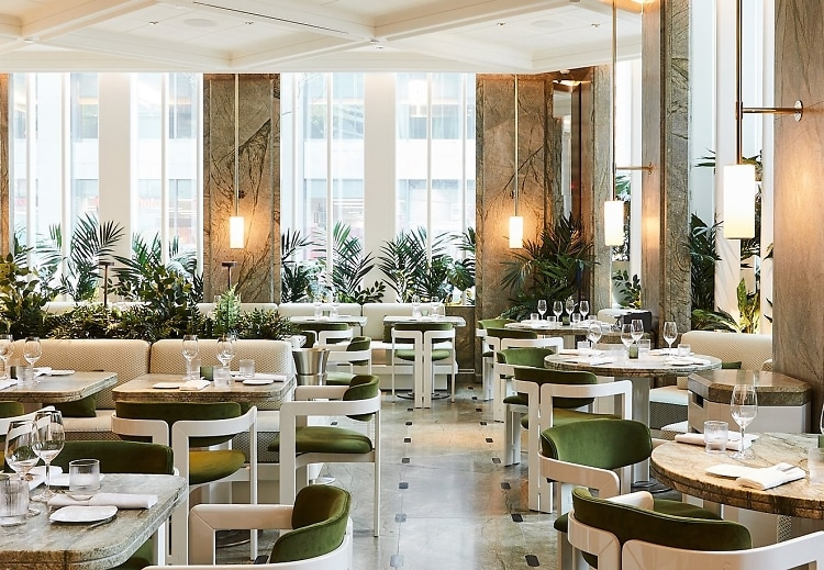 This Plant Filled French Eatery Is Nyc S Healthiest New
