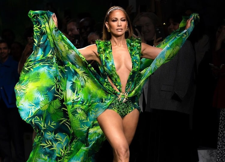 Jennifer Lopez Revisited *That* Iconic Grammys Dress To