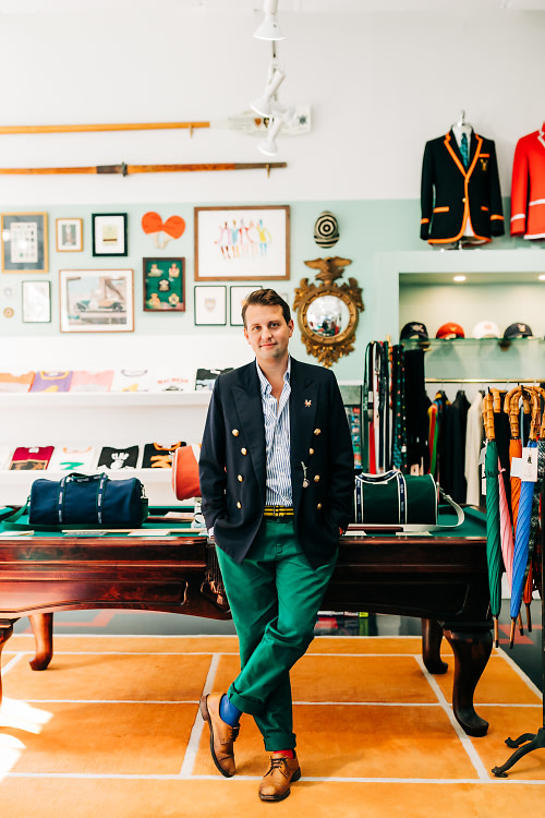 "Rowing Blazers' Jack Carlson Is Redefining The Rules Of Prep Style (But Please Don't Call Him ""Preppy"")"