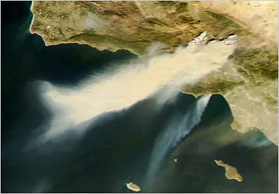 Malibu Fire 2007