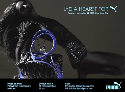 invite to lydia hearst party