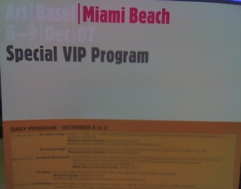 art basel invite