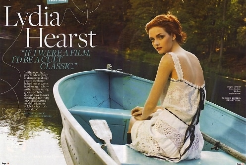 Lydia Hearst Page Six