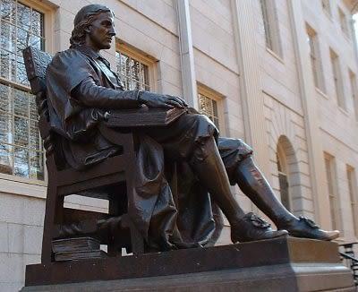 John Harvard Statue