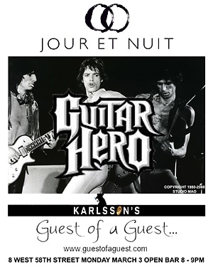 guitar hero flyer