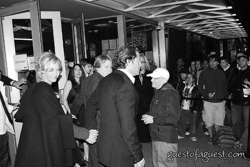 uma thurman and arpad busson at premiere of The Life Before her Eyes