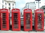 telephone booths, london