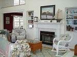 Living Room in Amagansett Rental