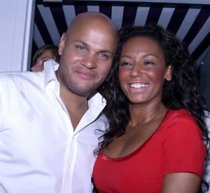 Melanie Brown and Stephen Belafonte at Dune