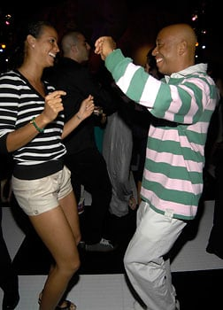 porschla coleman and russel simmons