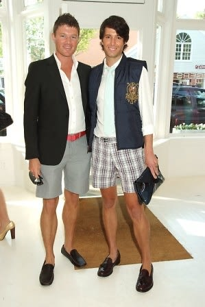 Nick Dietz and Douglas Marshall at Jackie Rogers Store Opening