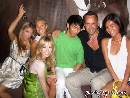 scott with friends at jasmin