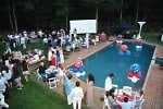 jill zarin's fourth of july party