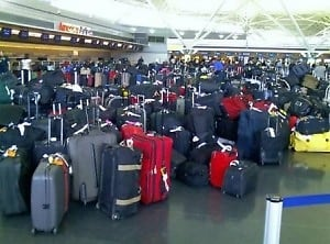 Luggage at JFK