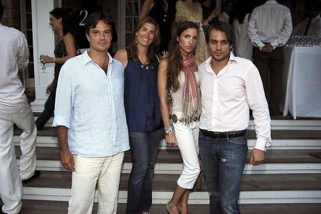 Mano Domiati, Samantha Domiati, Nastassja Balick, Anthony Coppers