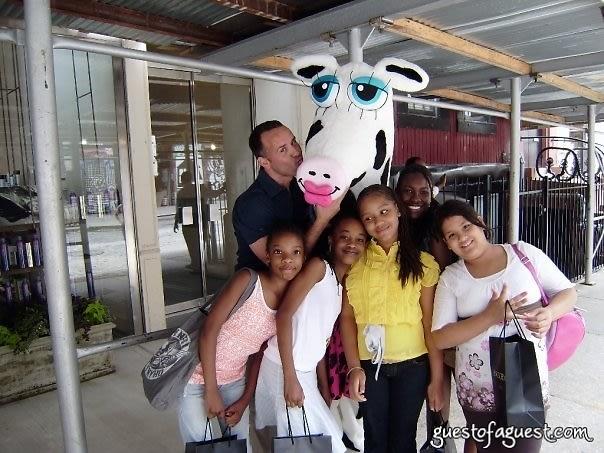 scott with kids