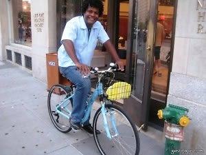 errick on my bike