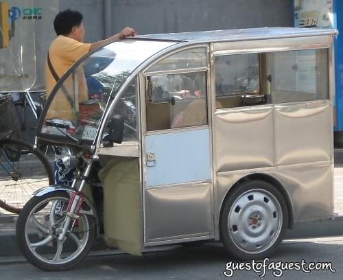 Beijing, ride