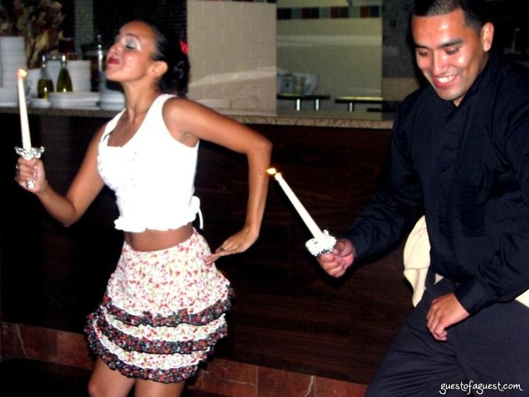 cynthia paniagua and juan carlos alvarado performing the alcatraz an afro
