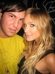 gregory littley with ashlee simpson