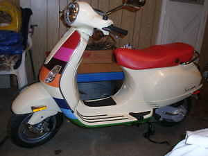 limited edition 2007 vespa