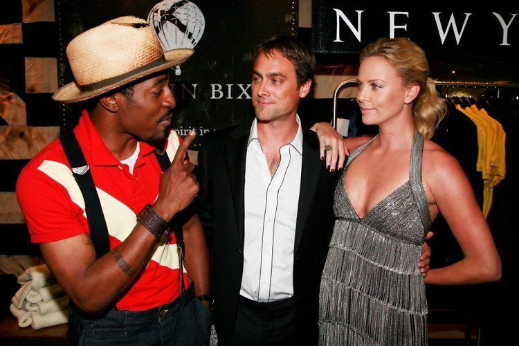Andre 3000, Stuart Townsend, Charlize Theron