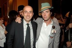Marco Giacometti (CEO of TOD\'S), Rufus Wainwright