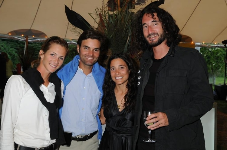 Maria Schaub, Ramiro Quintana, Alexandra Cherubini, David Attala