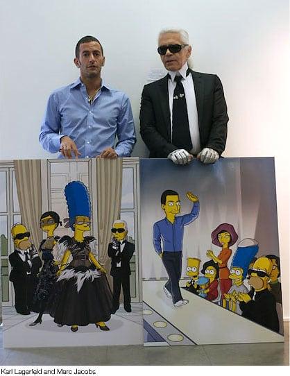Marc Jacobs, Karl Lagerfeld