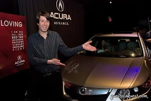 after party, Acura TSX