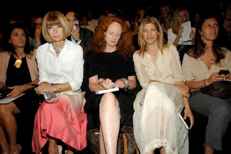 Anna Wintour, Grace Coddington, Nina Garcia
