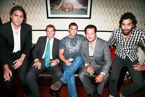 Diego Garcia, Topper Mortimer, Jason Pomeranc, Andres Santo Domingo (Hosts)