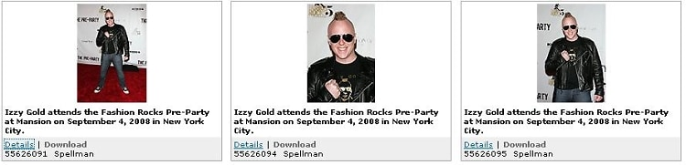Izzy gold Does Fashion Rocks