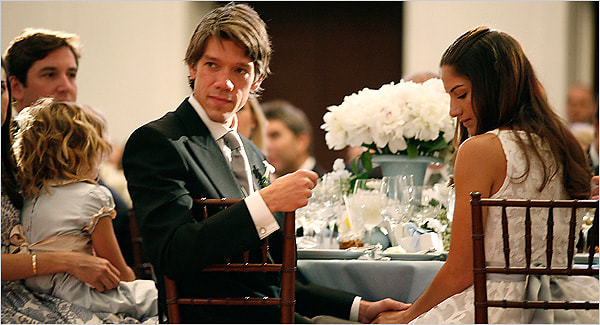 Stephen Gaghan and Minnie Mortimer