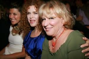 Marisa Tomei, Bernadette Peters, Bette Midler