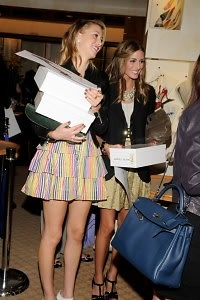 Whitney Port and Olivia Palermo